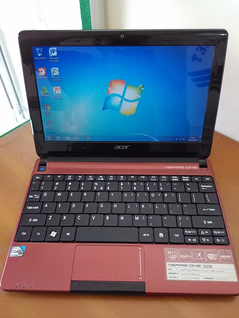 Netbook Acer Aspire One D270 Mulus Like New Sold Out
