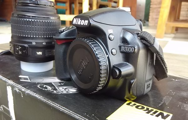 DSLR Nikon D3100 lensa 18-55mm Fulset (Sold Out)