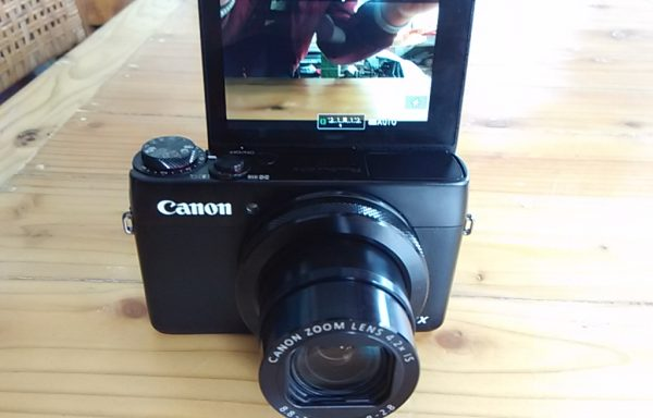 Canon G7X Kamera Vlogging (Sold Out)