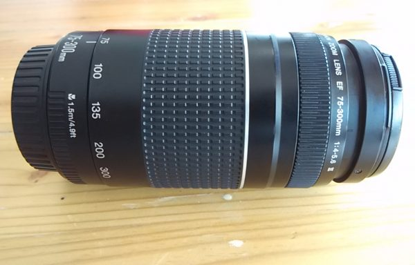 Lensa Tele Canon 75-300mm USM (Sold Out)