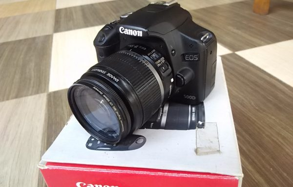 Canon 500D Lensa 18-55mm Fulset (Sold Out)