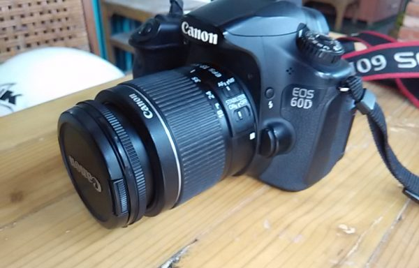 Canon 60D lensa 18-55mm IS II like new  (Sold Out)