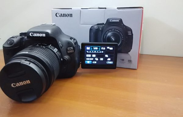 Canon 600D lensa 18-55mm Fulset like new (Sold Out)