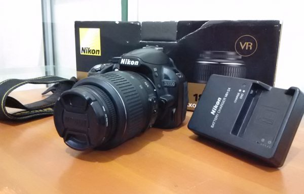 Nikon D3100 lensa 18-55mm Fullset (Sold Out)