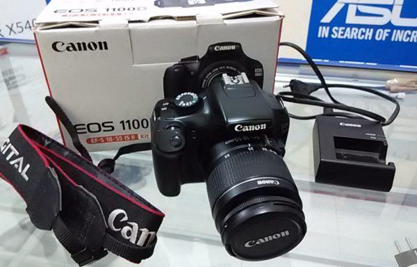 Canon 1100D Fullset Sc rendah (LAKU)