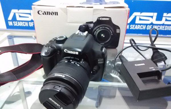 Canon 1100d Lensa 18-55mm III Fulset (LAKU)