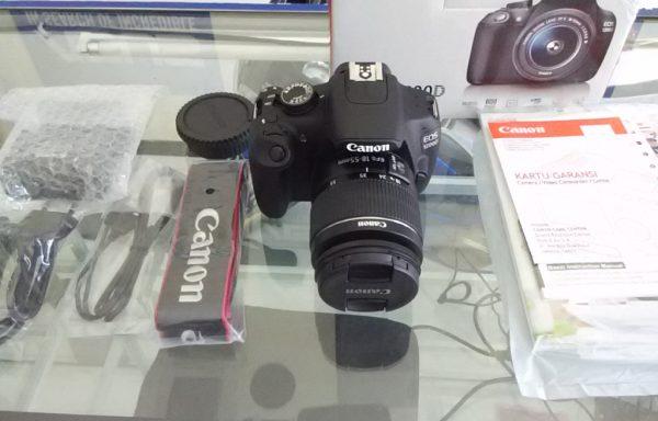 Canon 1200D lensa 18-55mm Like New (LAKU)