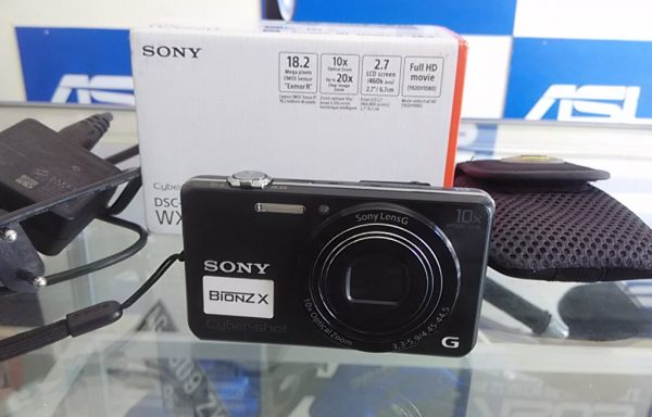 Kamera Sony WX220 Wifi Full HD cocok buat Vlog (LAKU)