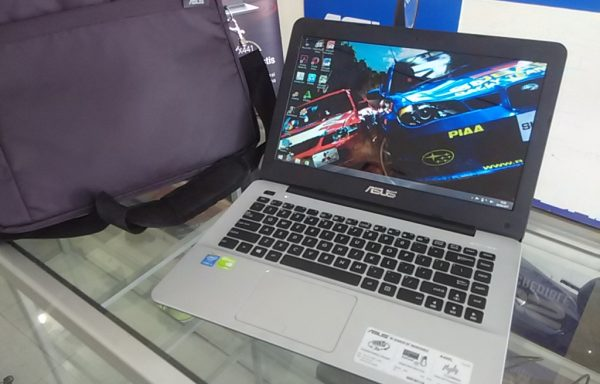Laptop Gaming Asus A455L i3 Dual VGA Nvidia 820 Mulus (LAKU)