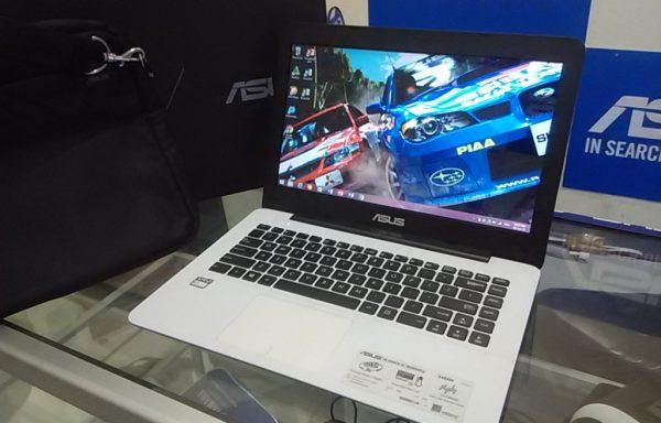 Laptop Asus X454W AMD E1-6010 500GB Mulus Fullset (LAKU)