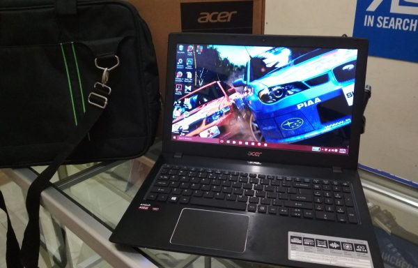 Laptop Gaming Acer E5 553G Amd A12 VGA R8 Ram 8GB 1TB Fullset Like New (LAKU)