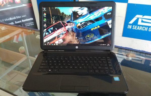 Laptop HP 14 – d040TU Intel Celeron N2820 Ram 4GB 500GB Mulus Sekali (LAKU)