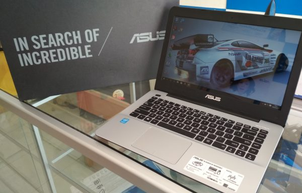 Laptop Asus A455L Core i3-5005 Ram 4GB Fullset Like new Garansi Panjang (LAKU)