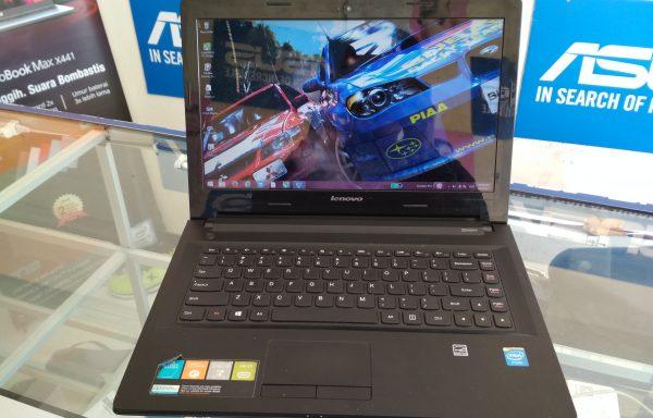 Laptop Lenovo G40-30 Intel Celeron N2840 500GB Mulus Baterei Awet (LAKU)
