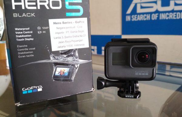 GoPro Hero 5 Black Rekam 4K Fullset Bonus Memory 32GB (LAKU)