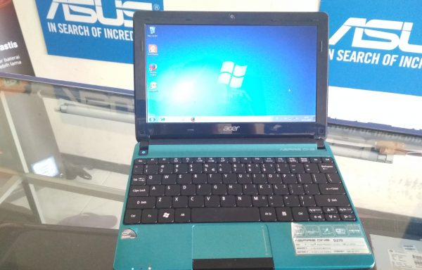 Netbook Acer Aspire D270 10in N2600 Ram 2GB HDD 320GB (LAKU)